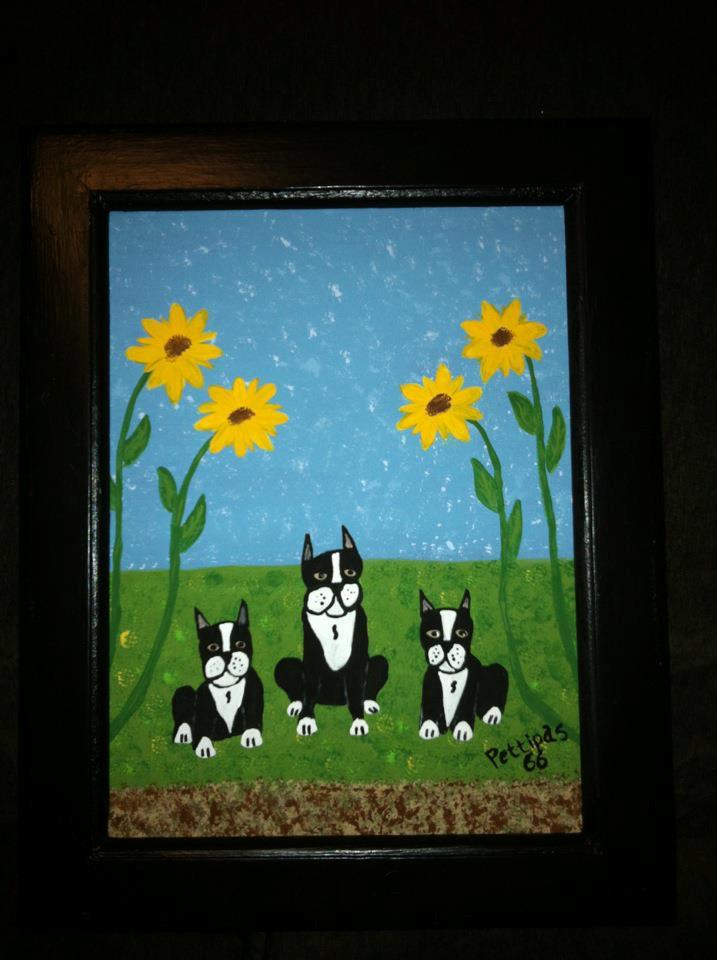 Jodys Dogs folk art