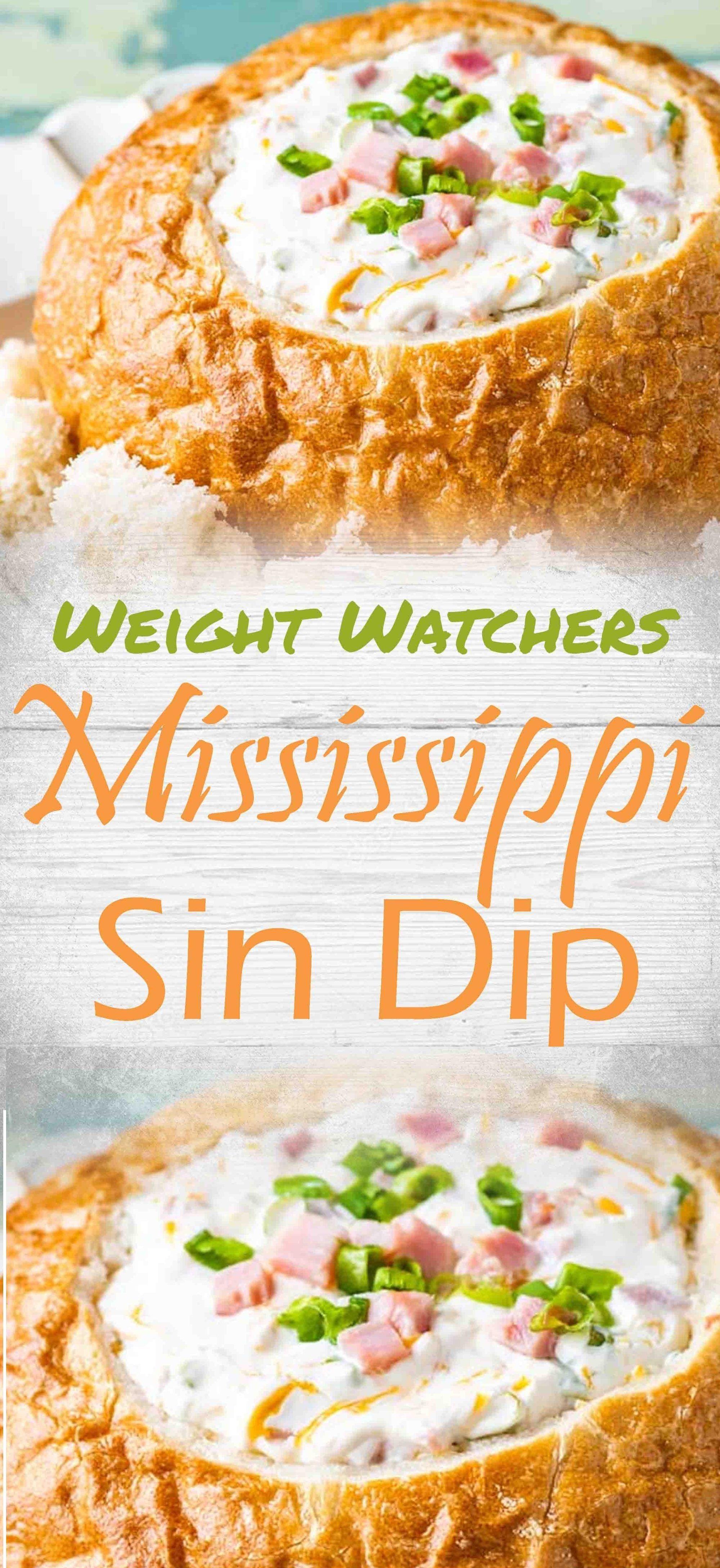 Mississippi Sin Dip (Weight Watchers) #ww #weightwatchers