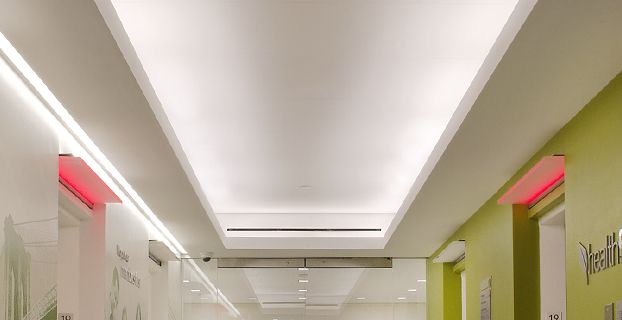 how to build a soffit for cove lighting