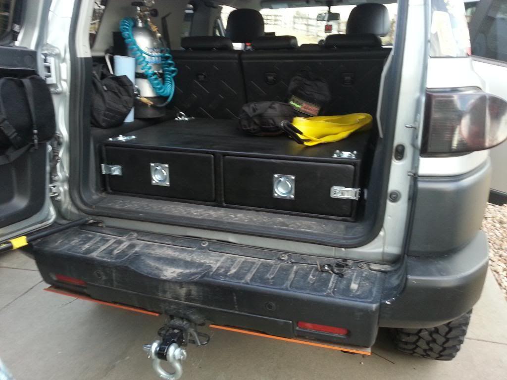 FJ Storage Box - Toyota FJ Cruiser Forum & FJ Storage Box - Toyota FJ Cruiser Forum | Cargo Storage | Pinterest ...