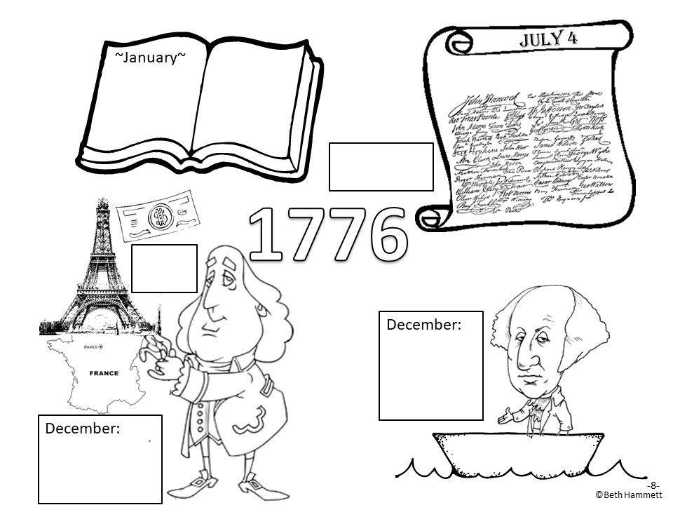 American Revolution Timeline (in Comic Book Format