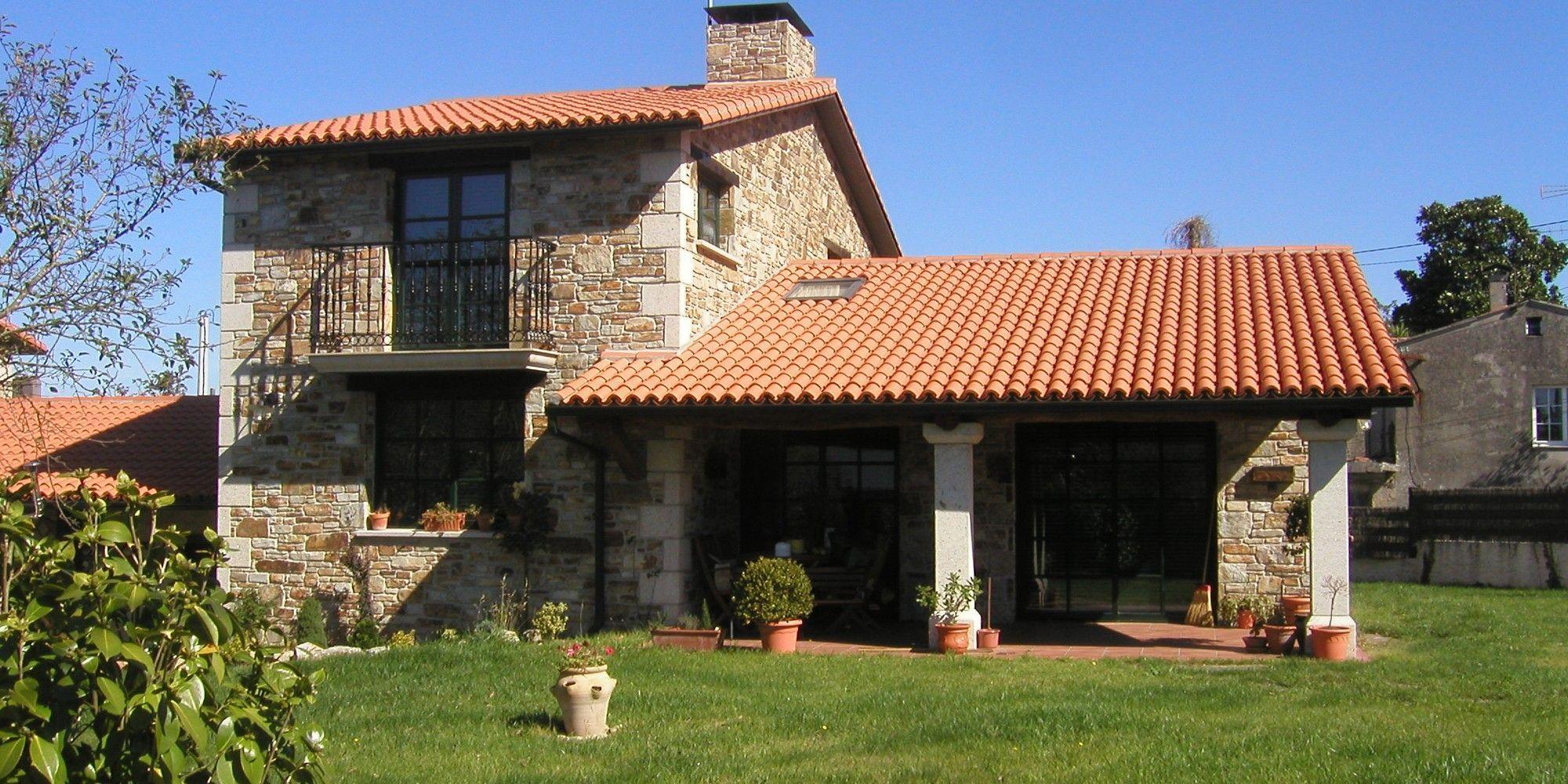 Casas Rusticas Modernas 1 Casasrusticasmodernas Stone House House Exterior Stone Houses