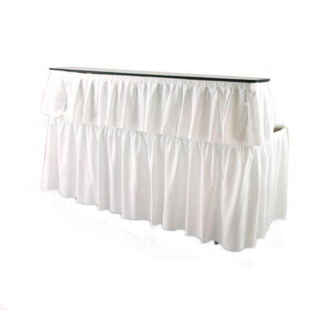 6 Ft Bar Table With Skirting Bar Top Tables Bar Table Bar Top