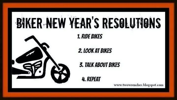 Happy New Year With Images Bike Quotes New Years Resolution