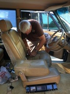 Jeep Grand Wagoneer Seat Upholstery Restoration And Repair Jeep