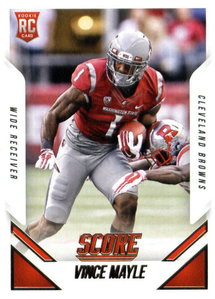 2015 score football 411 vince mayle rc cleveland browns