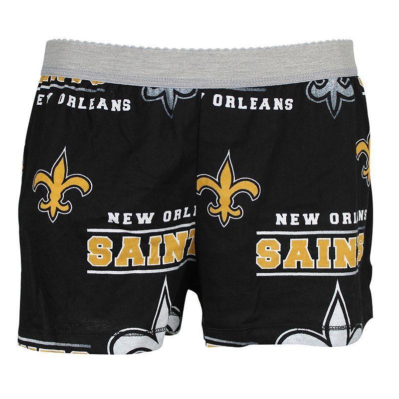 Women's Concepts Sport New Orleans Saints Sweep Shorts, Size: