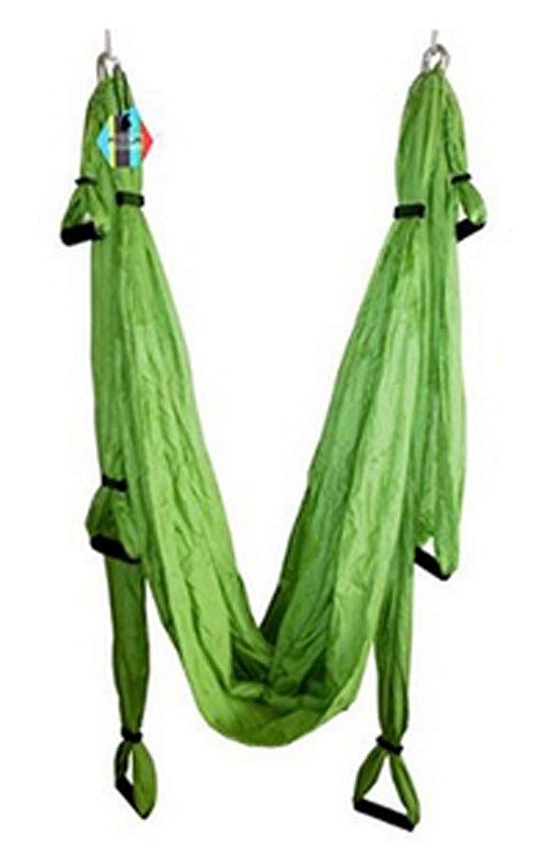 Shop yosoo yoga hammocks swing inversion sling fitness green
