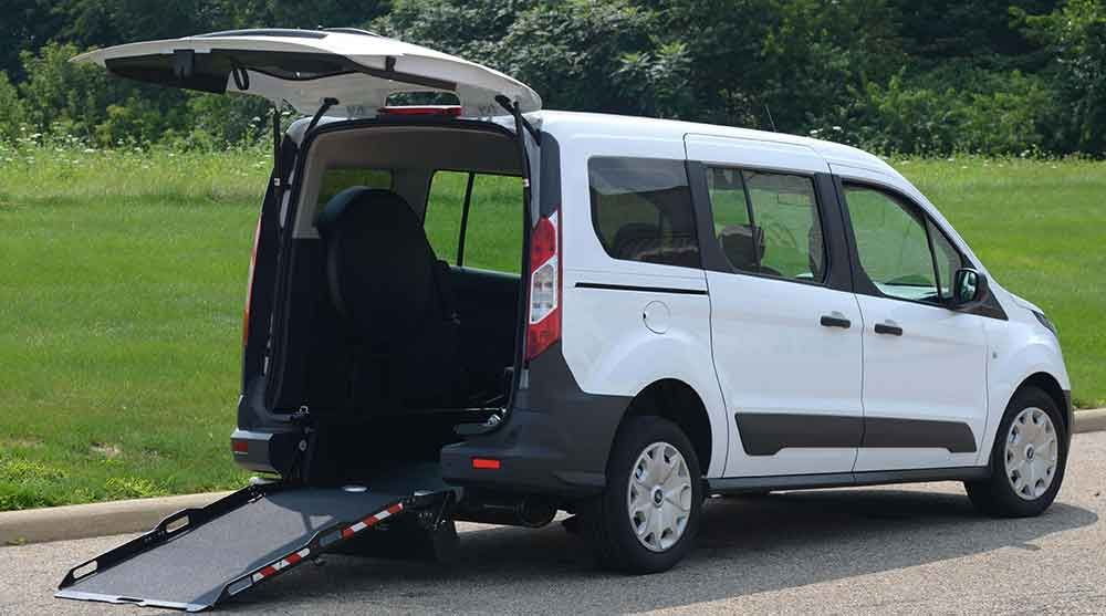 Ford Transit Connect Rear Entry Wheelchair Mobility Van ...