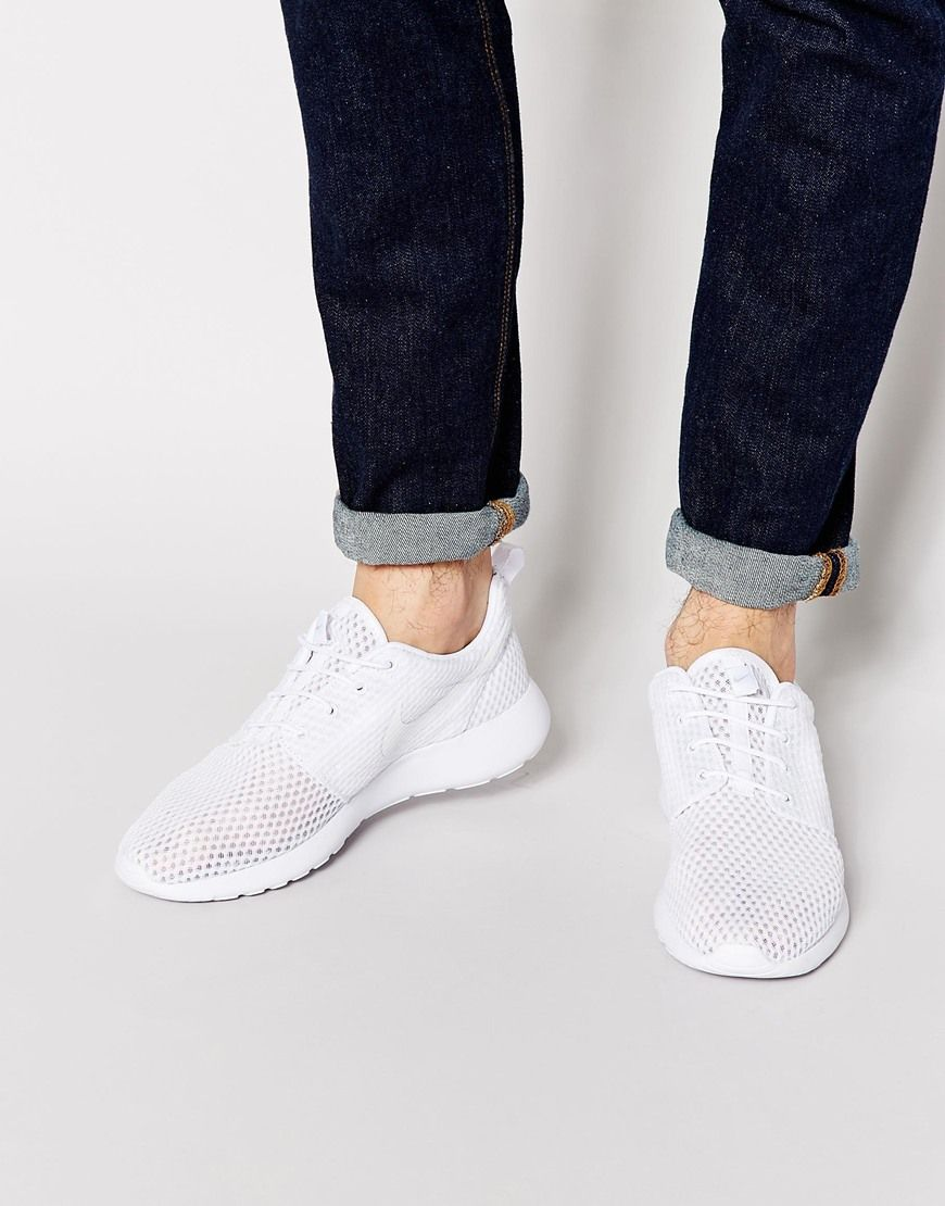 Nike Roshe One BR Sneakers White White