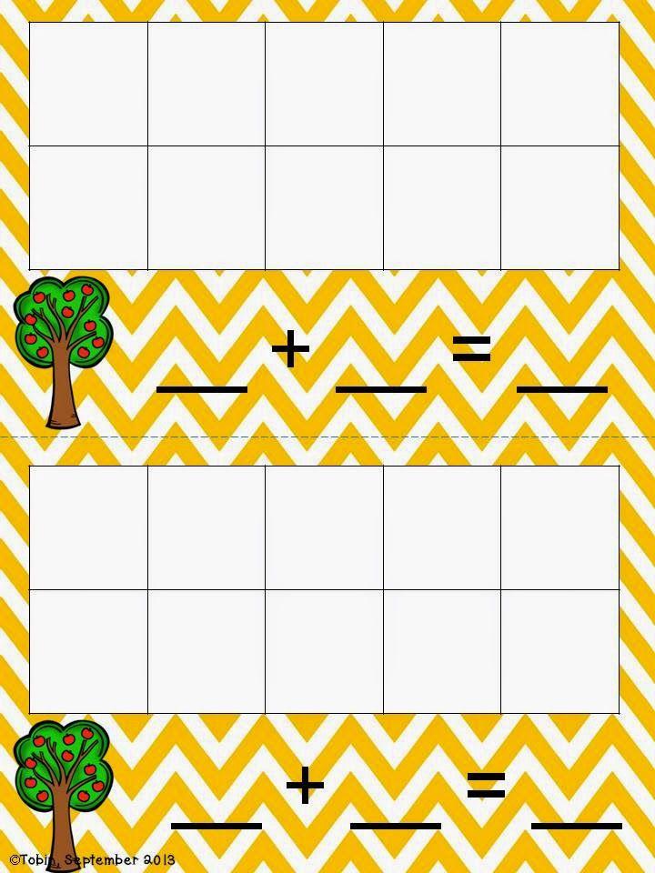 FREEBIE Math center spinning game