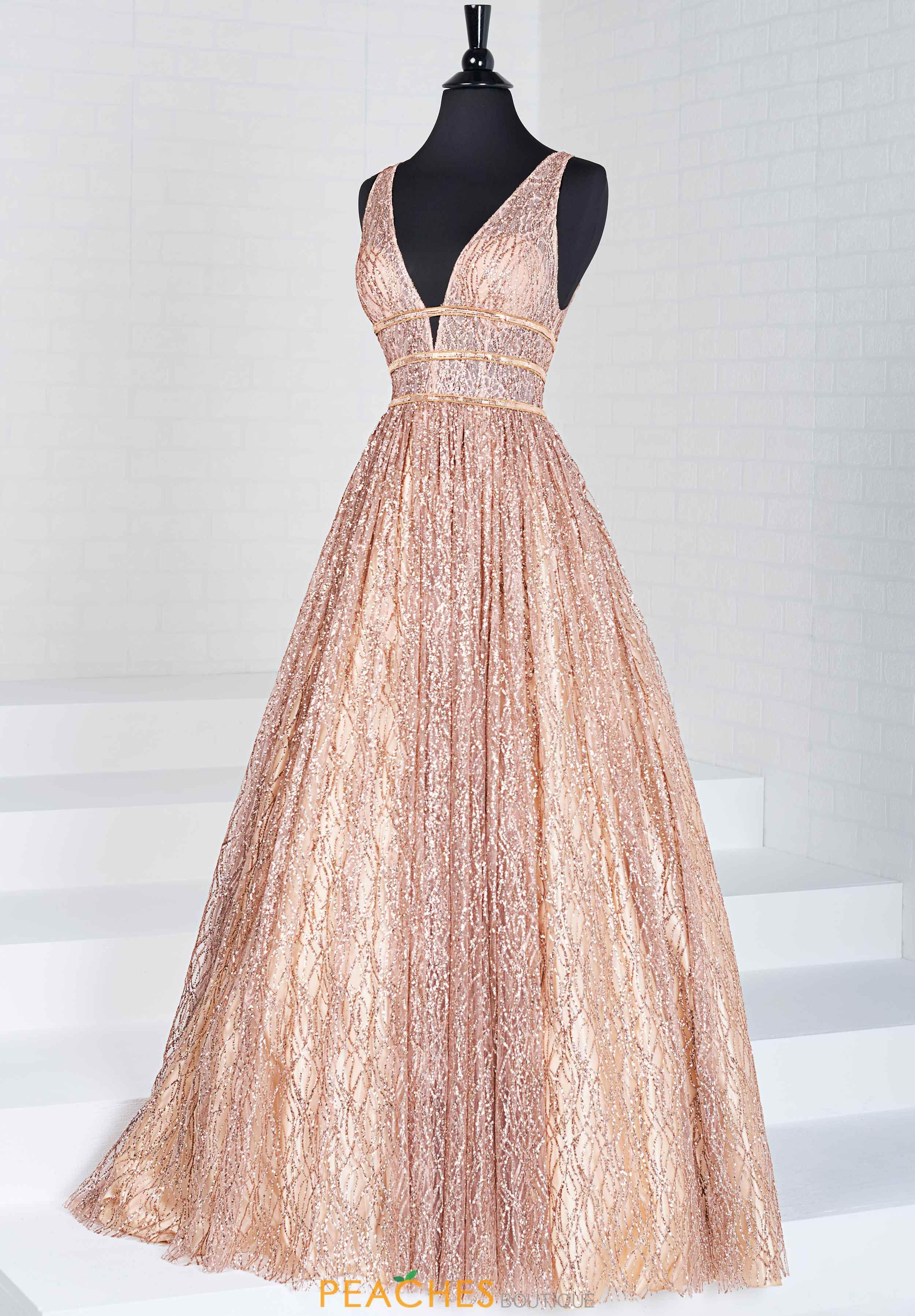 Rose Gold  Abschlussball kleider, Kleider, Hennakleid