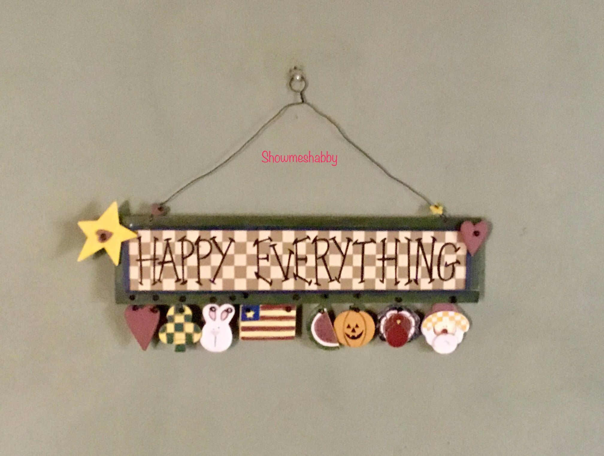 Happy Everything To Easily Decorate 4 All Holidays