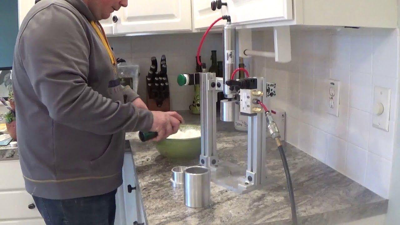 Bath Bomb Press by HBS Machinery Demo