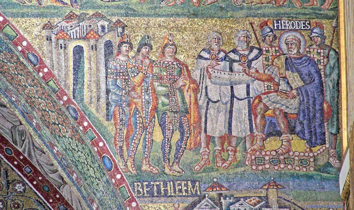 Jeannepompadour Byzantine Mosaic Santa Maria Maggiore Roman Art