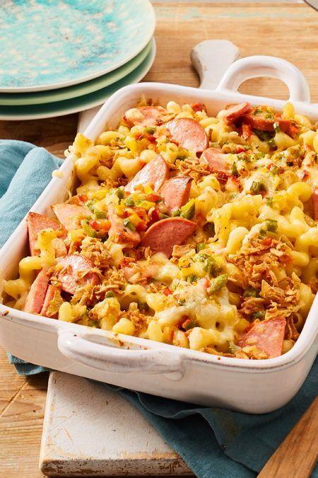 Käsenudeln mit Fleischwurst Rezept | LECKER #melonrecipes