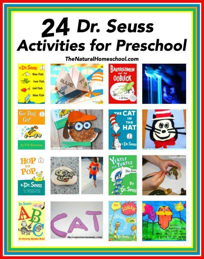 24 Dr Seuss Activities For Preschool Dr Seuss Activities Dr