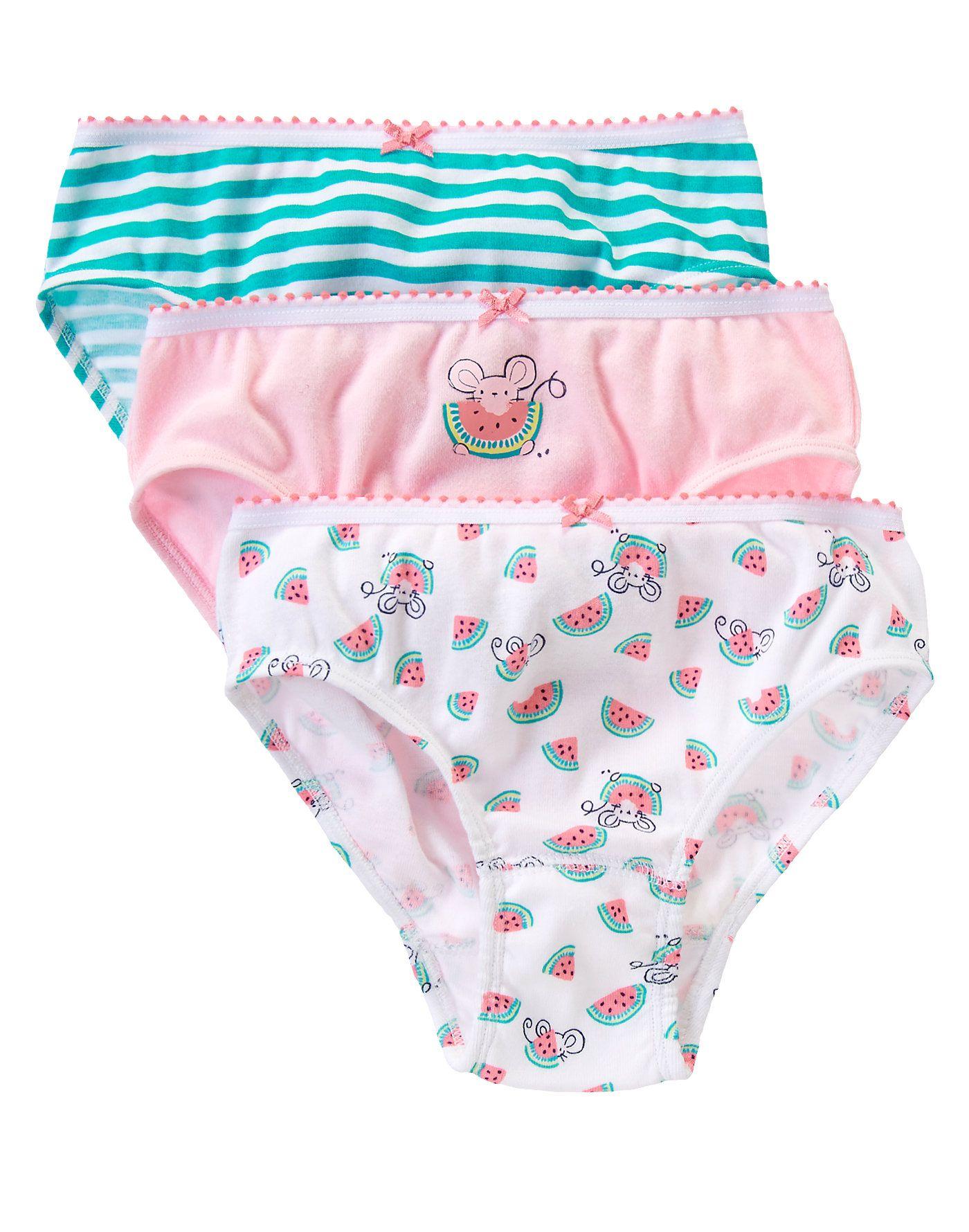 881cfd00eff4 Watermelon Underwear Three-Pack at Gymboree