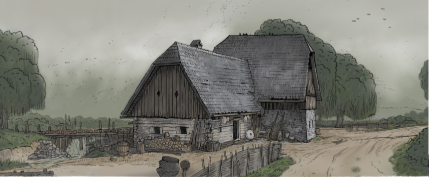 Pin By Roberto Betharte On Fantasy Map In 2020 Medieval Houses Kingdom Come Deliverance Location Inspiration