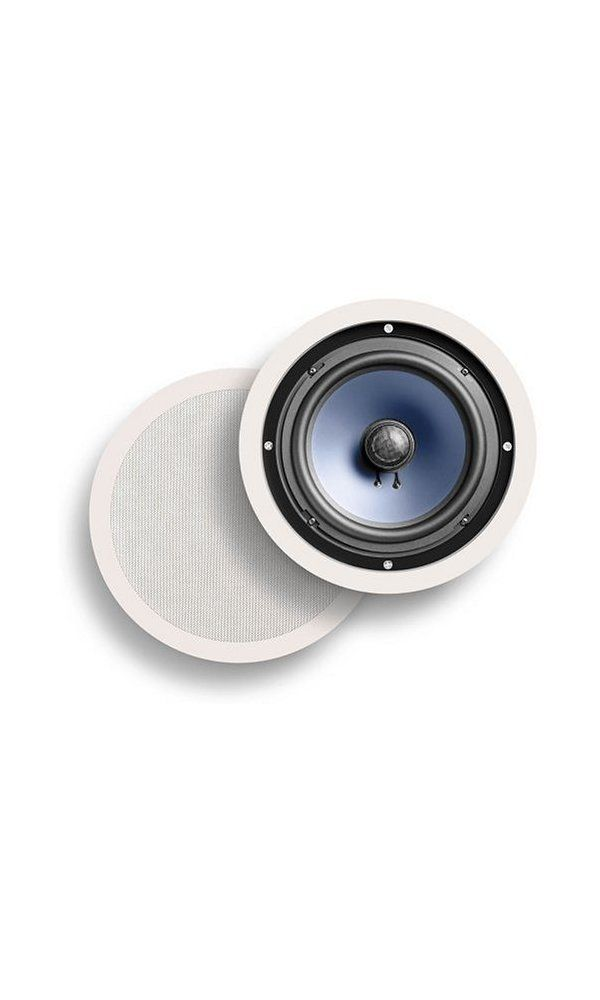 Polk Audio Rc80i 2 Way In Ceiling In Wall Speakers Pair White Deal Price 132 95 Buy From Amazon Https G In Wall Speakers Ceiling Speakers Polk Audio