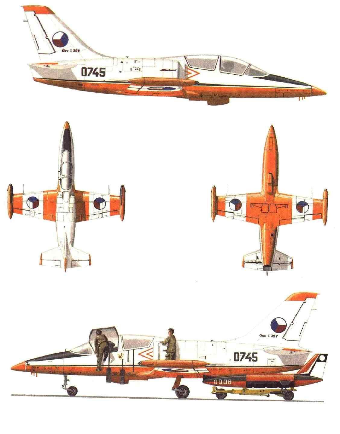 L-39V Albatros No. 0745 CzAF
