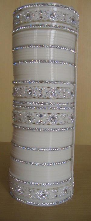 Indian style bangles - chura (bridal)