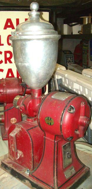 Antique Electric Grinder ~ Antique hobart coffee grinder model vintage