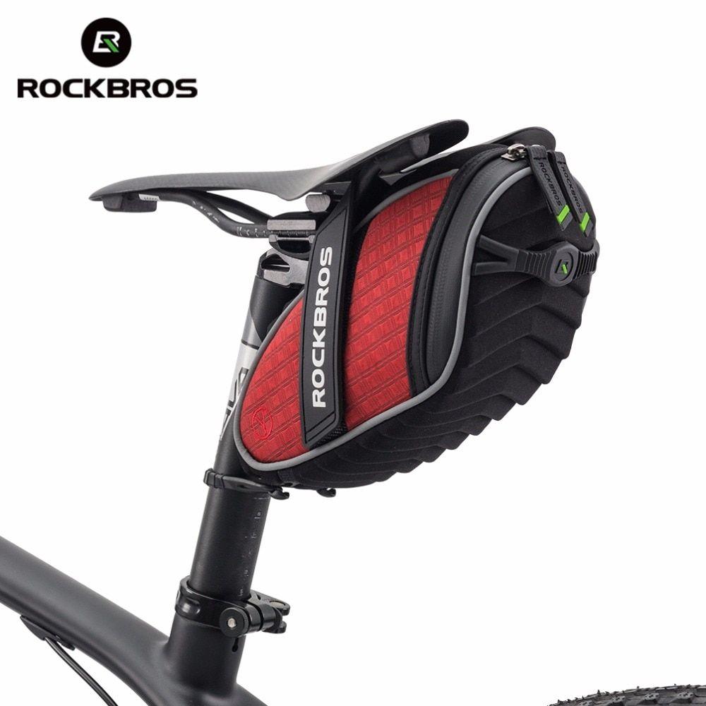 Best Seller Rockbros Cycling Rear Seatpost Bag 3d Shell Rainproof
