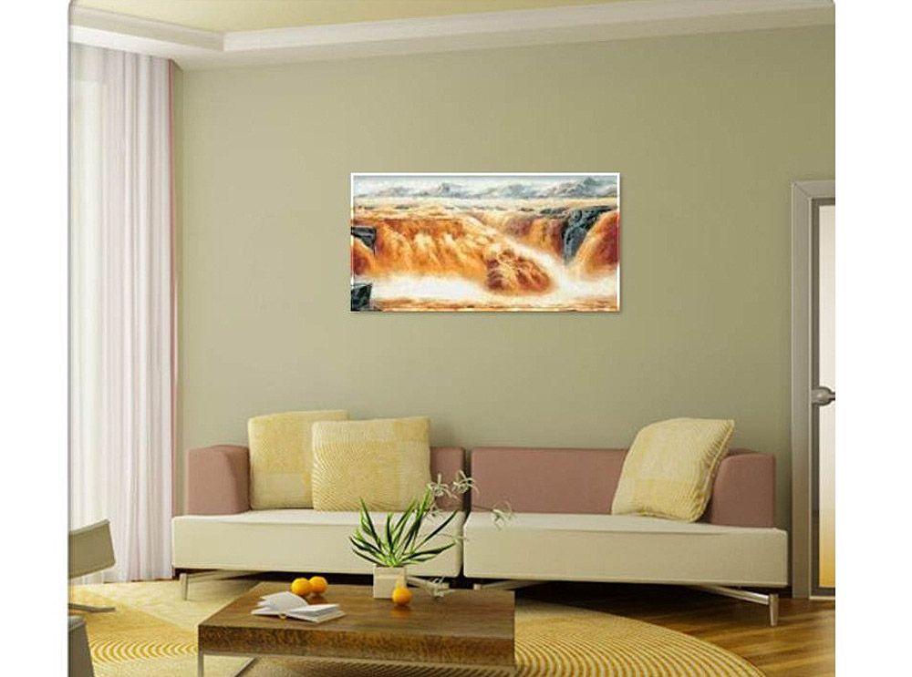 Картина по номерам «Бурная река» MS011 Menglei (Premium ...