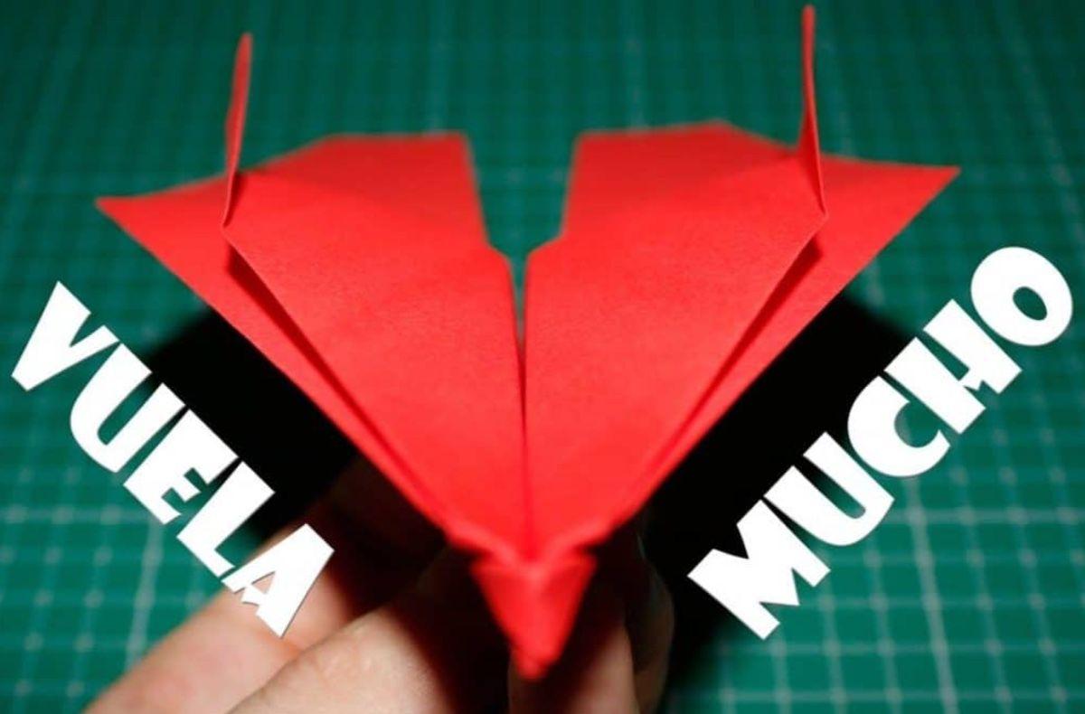 Origami Paso Como Hacer Aviones De Papel