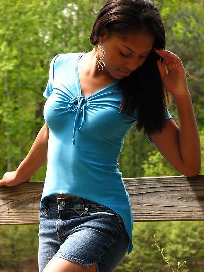 Portrait Of African American Teen 41
