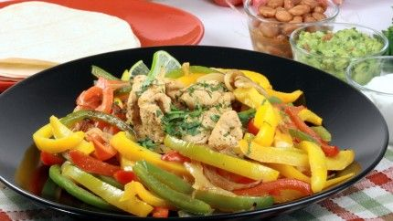 فاهيتا الدجاج للرجيم Recipe Chicken Fajitas Fajitas Main Course Recipes