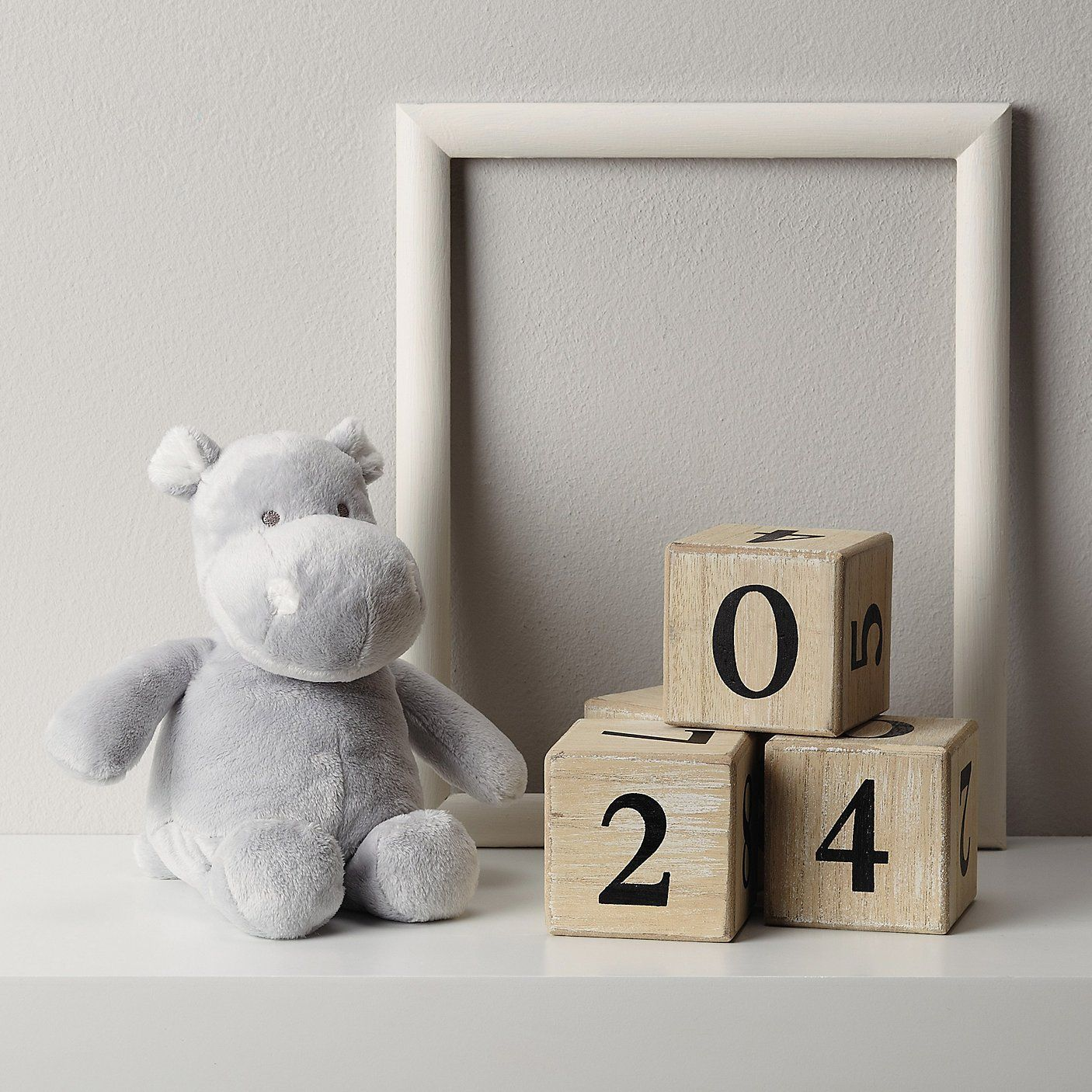Buy Toys & Books > Newborn Toys > Harry Hippo Chime from The White Company