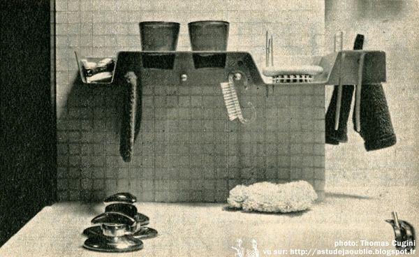 Paris - Appartement de Ionel Schein  Architecte: Ionel Schein  en colaboration avec Claude Demoulain, Dirk Jan Rol et Janine Abraham.  Photos: 1966