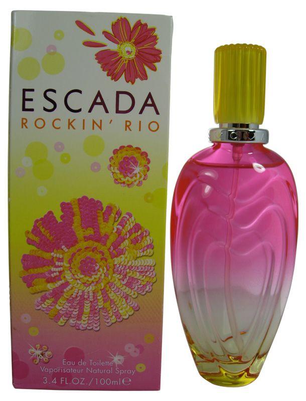 Escada Rockin Rio Perfume by Escada Eau De Toilette Spray / 100 Ml for Women. A DEFINITE MUST HAVE! DELICIOUS!!