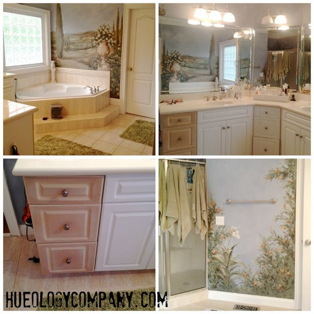 Paris Gray Kitchen Cabinets: Hueology Studio Remove Thermofoil On Fronts, On Cabinet Boxes Lightly Sand