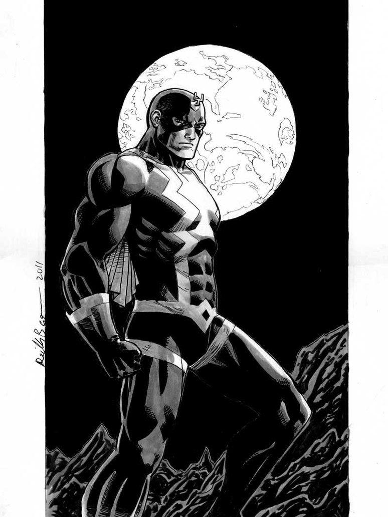 Black Bolt by ReillyBrown   Art   Pinterest   Fondos de pantalla ...
