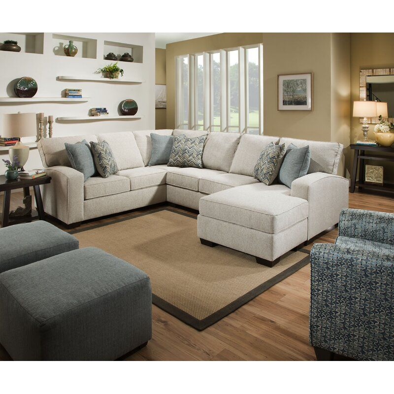 Henton 119 Right Hand Facing Sectional In 2020 With Images