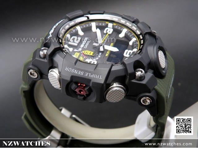 BUY Casio G-Shock MUDMASTER Triple Sensor Solar Multiband 6 Watch GWG-1000- 091795259