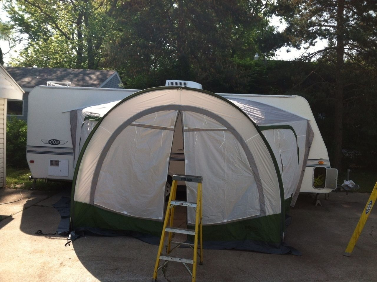 New Rv Camper Popup Ae Dometic 16 Cabana Screen Room Privacy Awning R Pod Picclick Com Rv Campers R Pod Rv