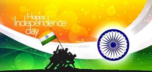 Happy Independence Day Indian Army Flag Proud Indian 500x238 Independence Day 1 Happy Independence Day India Independence Day Wallpaper Indian Independence Day