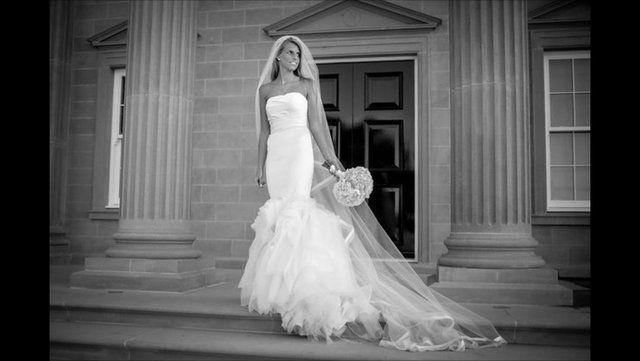 Vera Wang Ethel Wedding Dress Size 2 (UK 6) For Sale In