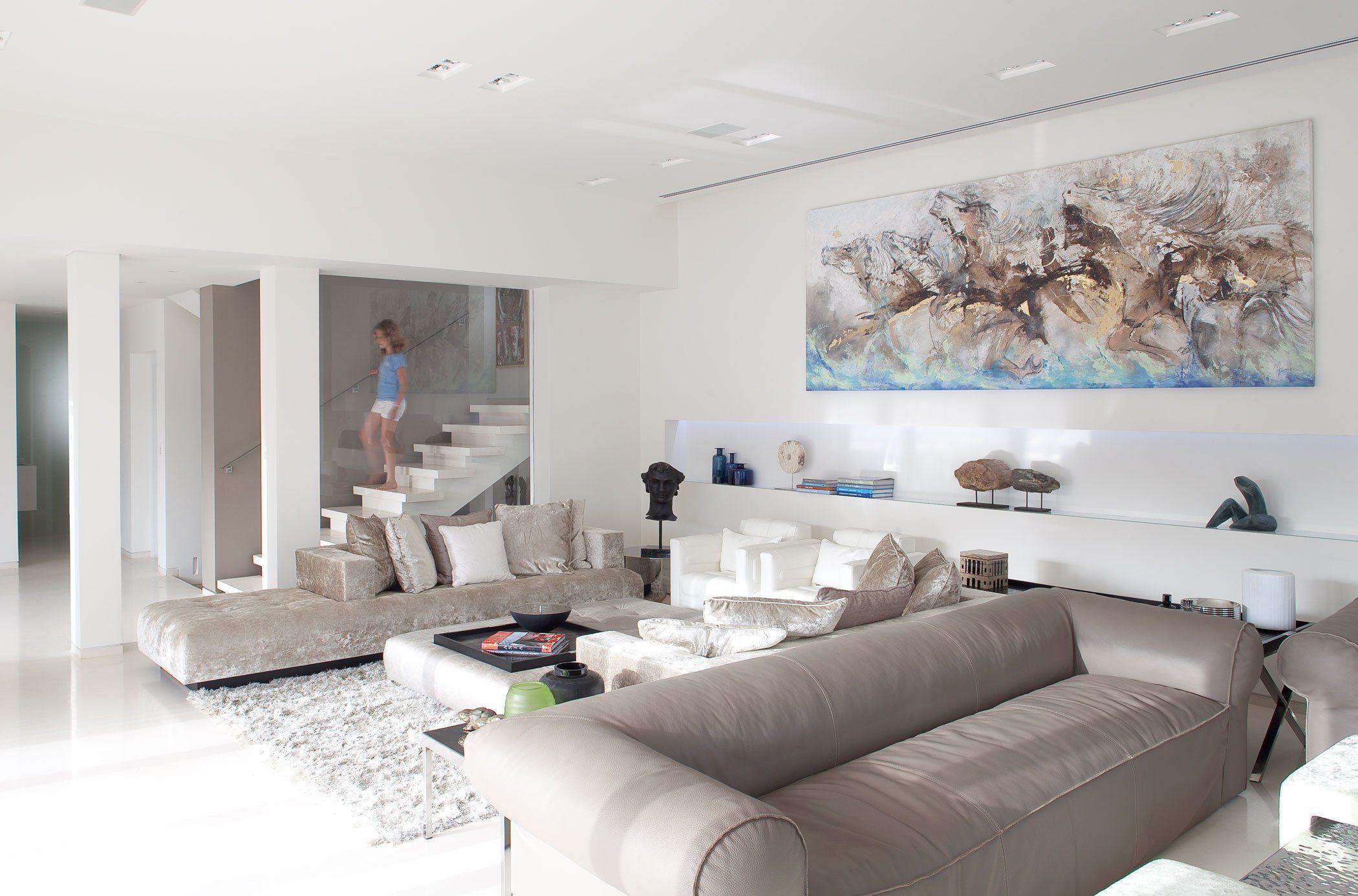 9 moderne, innovative Luxus Interieur Ideen fürs Wohnzimmer