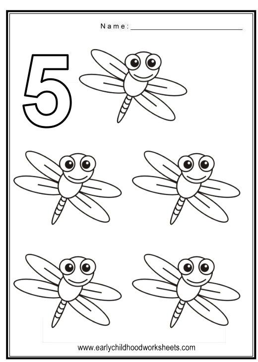fun and cute coloring numbers worksheets with bugs theme color in number 1 through number and color in the bugs pictures too