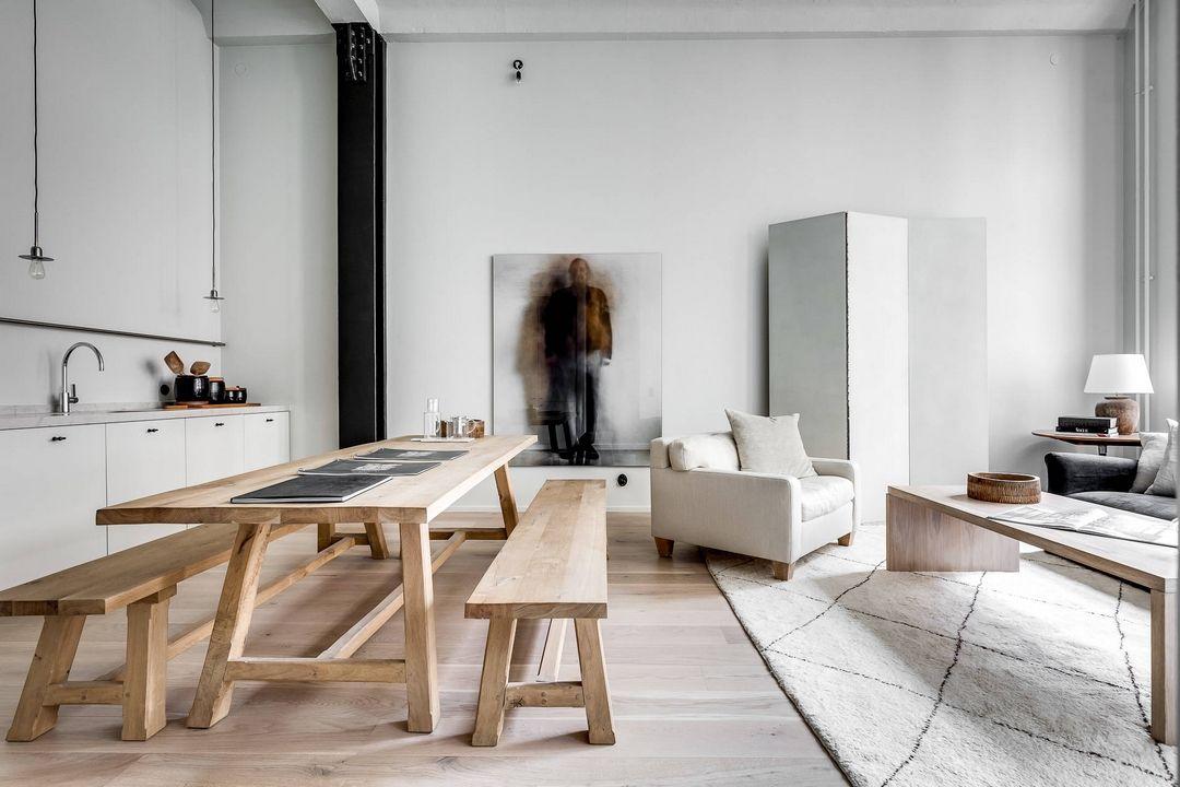 Minimalisme Brut Meubles De Salon Modernes Salon Maison Architecte Interieur