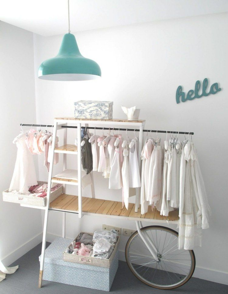 aus fahrrad kleiderschrank f r m dchen selber bauen ideen pinterest kinderzimmer. Black Bedroom Furniture Sets. Home Design Ideas