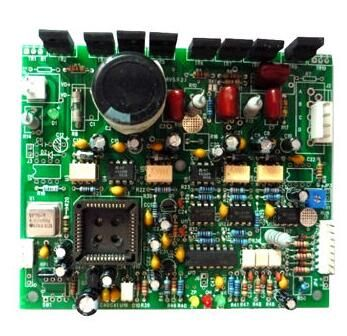 Double-sided board assembly, compliant with RoHS Directive