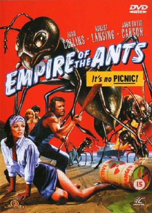 Empire of the Ants. Cheesy big bug flicks from the 70s rock!