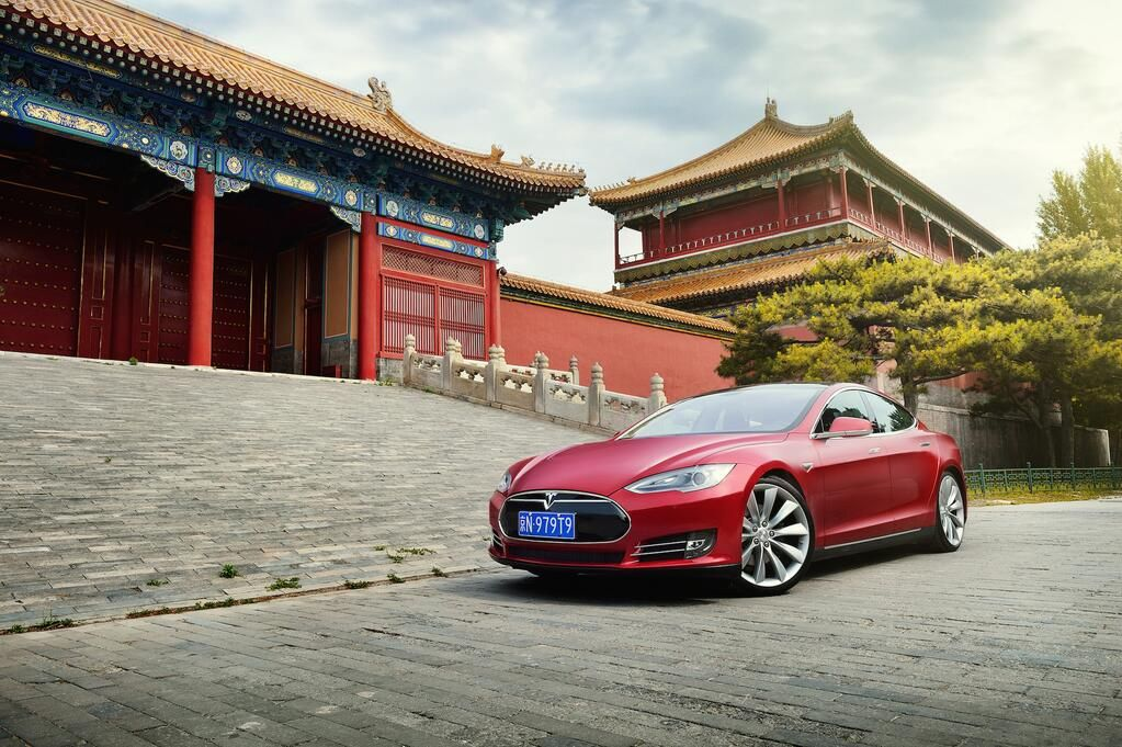 Tesla Model S enters the Asian market. For more, check out: www.evannex.com