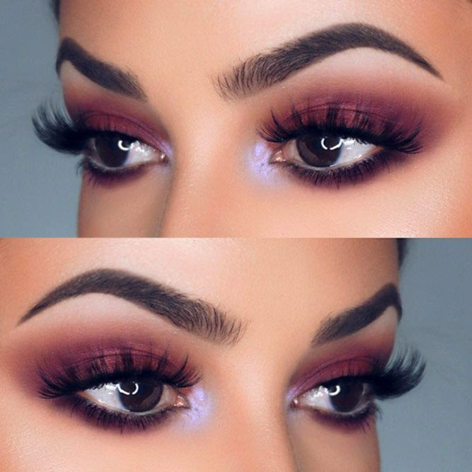 Sexy makeup looks for brown eyes